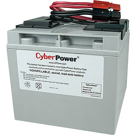 CyberPower RB12170X2A UPS Replacement Battery Cartridge for PR1500LCD