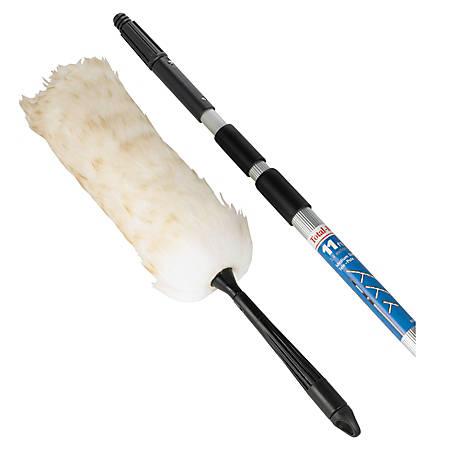 Unger® Duster Telescoping Pole Kit, Cream