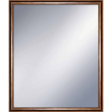 "PTM Images Framed Mirror, Vintage, 29 1/2""H x 28""W, White"