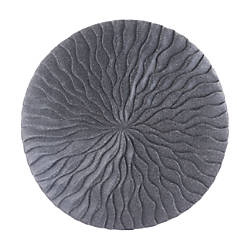 Zuo Modern Round Wave Plaque Small