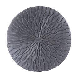 Zuo Modern Round Wave Plaque Small