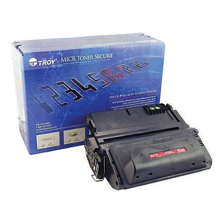 Troy TRS0281118001 (HP 38A / Q1338A) MICR Black Toner Cartridge