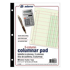 Adams Analysis Pad 8 12 x