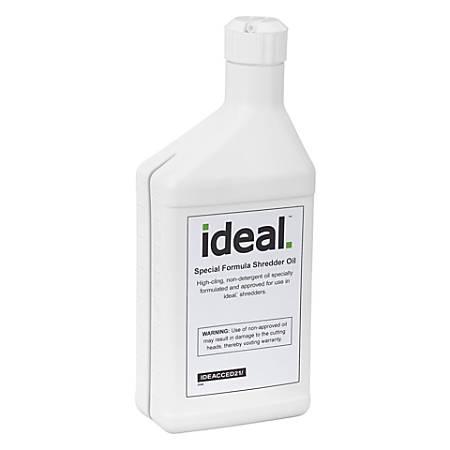 ideal. Special High-Cling Shredder Oil, 16 Oz, Pack Of 8 Bottles