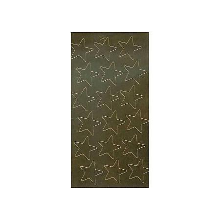 "Eureka Presto-Stick Gold Foil Star Stickers, 3/4"", Grades Pre-K - 5, Gold, Pack Of 175"