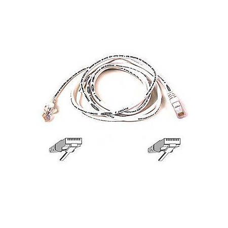 Belkin Cat5e Patch Cable - RJ-45 Male Network - RJ-45 Male Network - 6ft - White