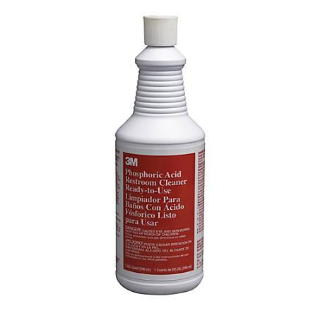 3M™ Phosphoric Acid Restroom Cleaner, 32 Oz.