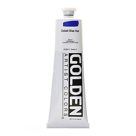 Golden Heavy Body Acrylic Paint, 5 Oz, Cobalt Blue Hue
