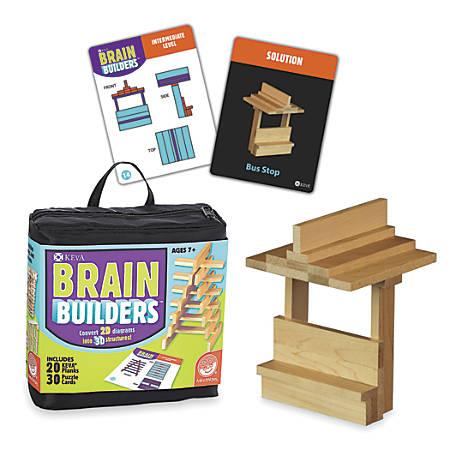 Mind Ware KEVA® Brain Builders Set, Multicolor, Grades 1 - 8