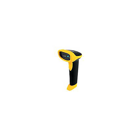 """Wasp WWS550i Freedom Cordless Barcode Scanner - Wireless Connectivity - 230 scan/s - 12"""" Scan Distance - 1D - Laser - CCD - Linear"""