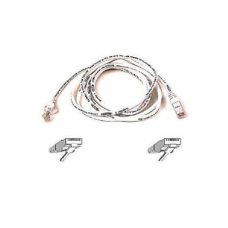Belkin Cat5e Patch Cable - RJ-45 Male - RJ-45 Male - 6ft - White