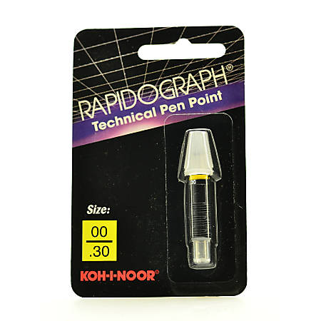 Koh-I-Noor Rapidograph No. 72D Replacement Point, 2x0, 0.3 mm