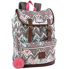 Emma Chloe Chevron Backpack Multicolor