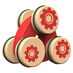 BeginAgain Toys The Tumbler FlipPush Toy