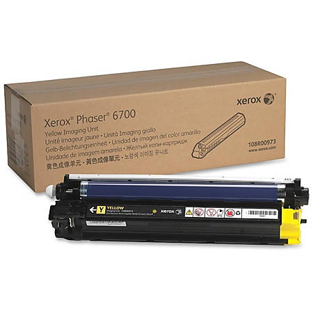 XEROX 108R00973 Imaging Unit 50,000 Page-Yield Yellow