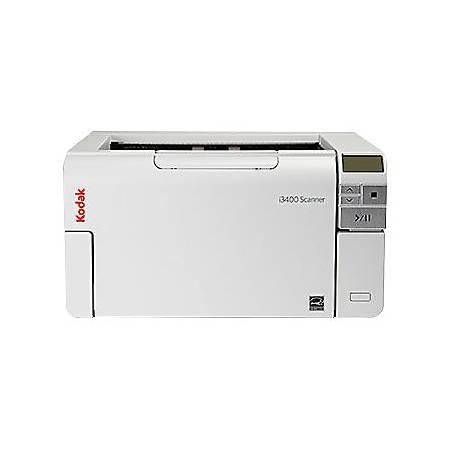 Kodak Alaris i3400 Sheetfed Scanner - 600 dpi Optical - 48-bit Color -  8-bit Grayscale - 90 ppm (Mono) - 90 ppm (Color) - Duplex Scanning - USB  Item #