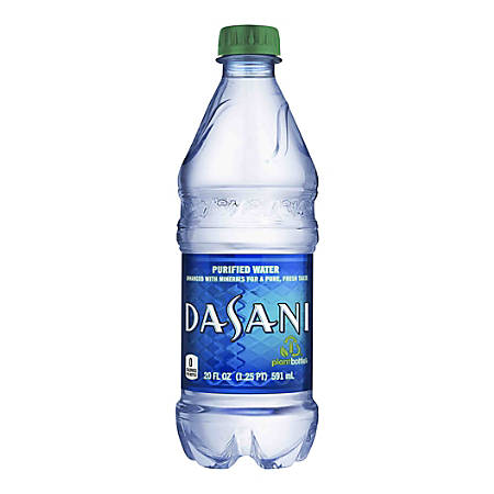 Dasani Water, 20 Oz. Bottle