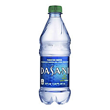 Dasani Water 20 Oz Bottle