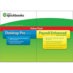 QuickBooks Desktop Pro With Enhanced Payroll