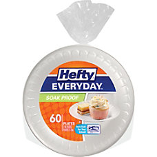 Hefty Everyday Soak Proof 7 Plates
