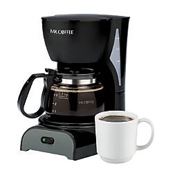 Mr Coffee 4 Cup Coffeemaker Black