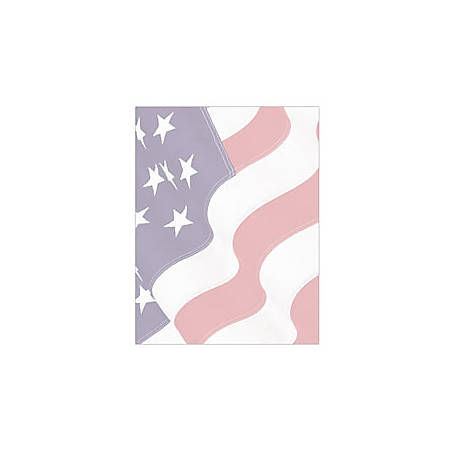 """Geographics® Design Paper, Flag, 8 1/2"""" x 11"""", Pack Of 100"""