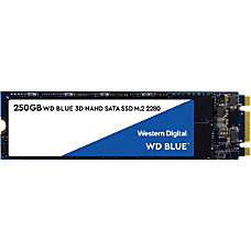 WD Blue 3D NAND 250GB Internal