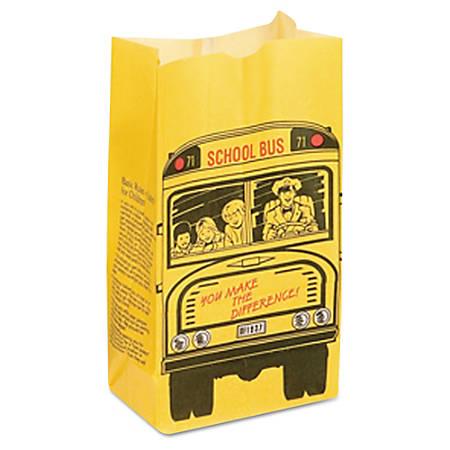 Bagcraft SOS Dubl Wax® Bakery Bags, 6 Lb, Multicolor, Pack Of 500 Bags