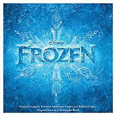 Flipside Disney Frozen Movie Soundtrack CD