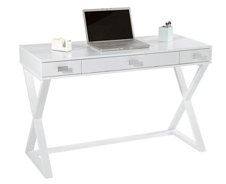 See Jane Work Kate Writing Desk White Office Depot