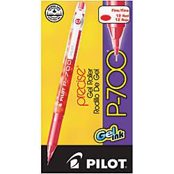 Pilot Gel Ink Rollerball Pens P