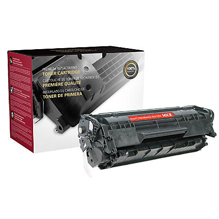 Office Depot® Brand CTG12M Remanufactured MICR Toner Cartridge Replacement For HP 12A Black