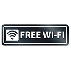 US Stamp Sign Free Wi Fi