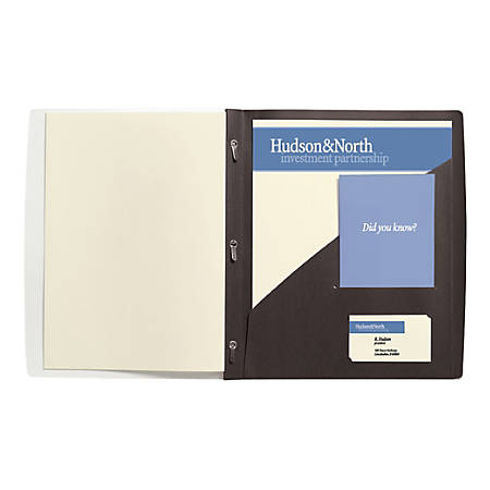 """GBC® Frosted Front Report Cover, 11 1/2"""" x 9 1/2"""", Black, Pack Of 5"""