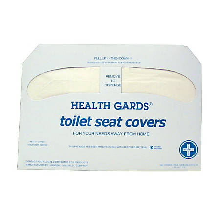 Krystal Premium Half Fold Toilet Seat Covers 16 x 3 White 250 ...