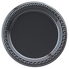 Huhtamaki Round Heavyweight Plastic Plates 7
