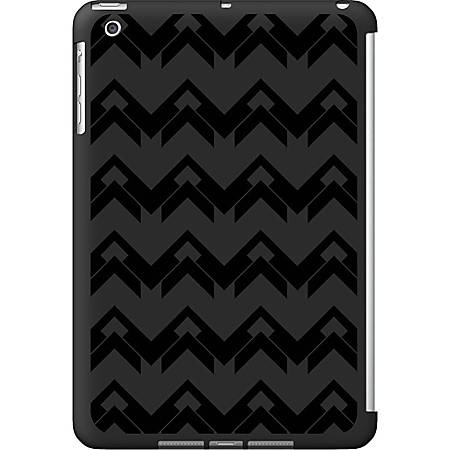 OTM iPad Mini Black Matte Case Black/Black Collection, Herringbone - For iPad mini - Herringbone - Black - Matte