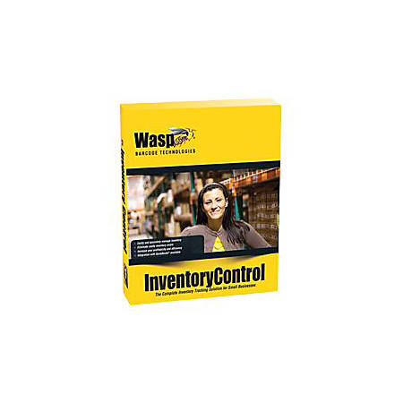 Inventory Control RF Professional - (v. 7) - box pack (upgrade) - 1 mobile device, 5 PCs - upgrade from MobileInventory 3 Desktop / Inventory Control Standard 3/4/5/6 - DVD - Win, Pocket PC