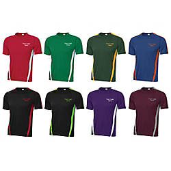 Colorblock Sport Screened T Shirt