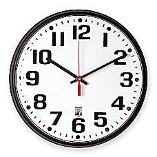 Skilcraft Self Set Wall Clock 12