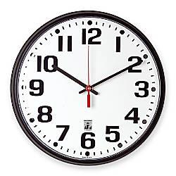 Skilcraft Self Set Wall Clock 12