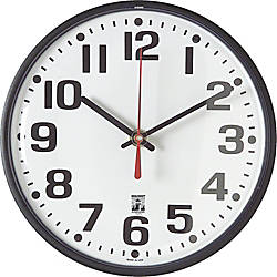 Skilcraft Self Set Wall Clock 8