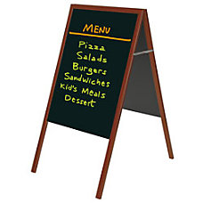 MasterVision Black Wet Erase Display Board