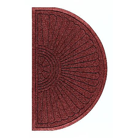 "The Andersen Company Waterhog Eco Grand Premier Half-Oval Floor Mat, 72"" x 39 5/8"", Regal Red"