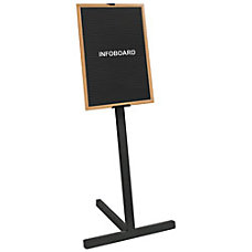 MasterVision Standing Portrait Letter Board 24