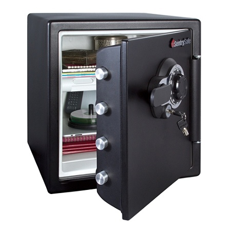 Sentry®Safe Fire Safe® Combination Safe, 1 23 Cu Ft Capacity Item # 385657
