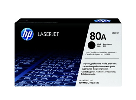 3 PACK CF280A Toner BLACK Fit HP 80A Color LaserJet Pro 400 M401dn M401dw M401d