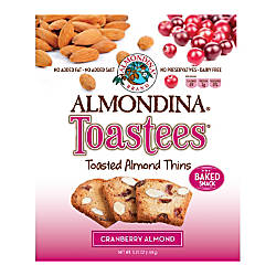 Almondina Toastees Cranberry Almond 525 Oz