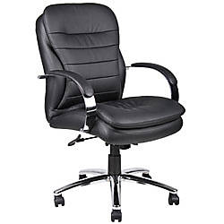 Boss Office Products Mid Back Executive