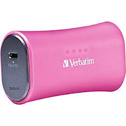 Verbatim Portable Power Pack 2200mAh Pink